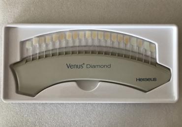 Heraeus Venus Diamond Farbring Farbschlüssel Farbskala Shade Guide